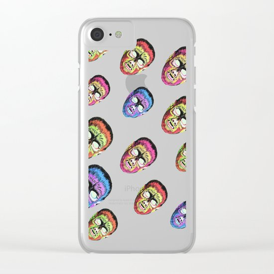 Gods and monsters Clear iPhone Case