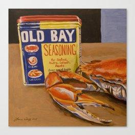 Meg's Old Bay Canvas Print