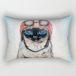 Aviator Cat Rectangular Pillow