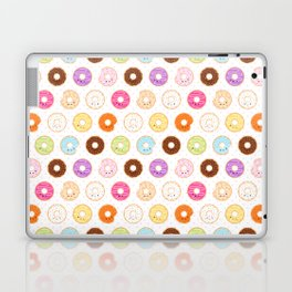 Happy Cute Donuts Pattern Laptop & iPad Skin