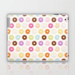 Happy Cute Donuts Pattern Laptop & iPad Skin