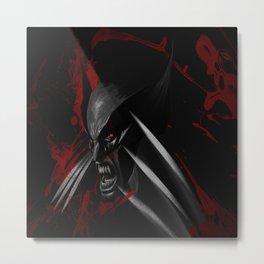 hero mutan Metal Print