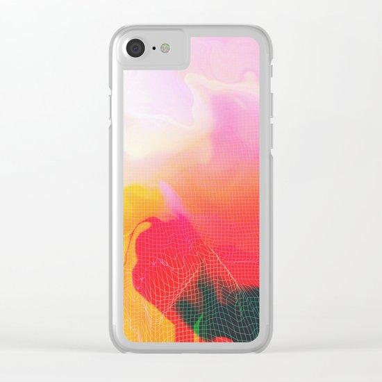 Glitch 05 Clear iPhone Case