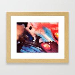 Man vs the Universe Framed Art Print