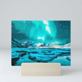 Northern light 4 Mini Art Print