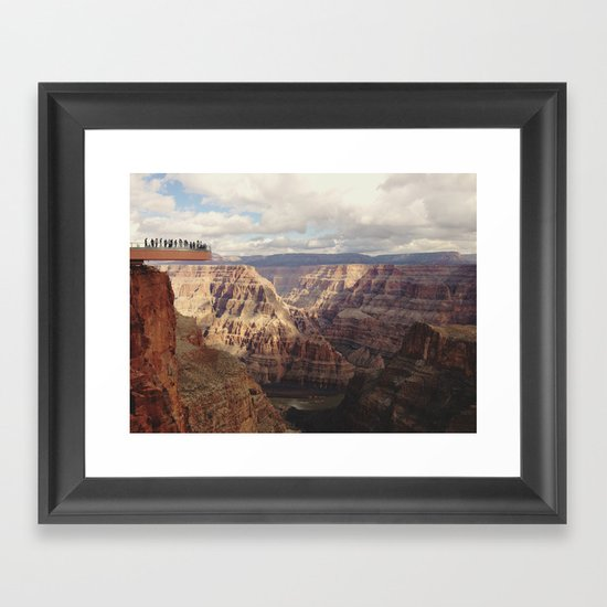 Skywalk Framed Art Print