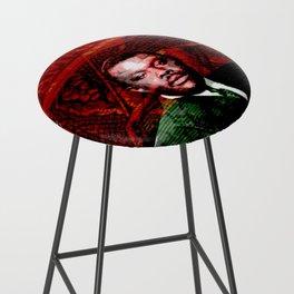 Marcus Garvey Black Nationalist Design Merchandise Bar Stool