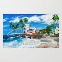 Isla Verde - $1M View, Carolina, San Juan, Puerto Rico Rug