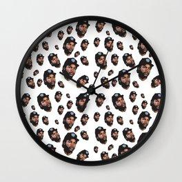 Doughboy Allover Print Wall Clock