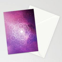 Peaceful Ascension - Purple Variant Stationery Cards