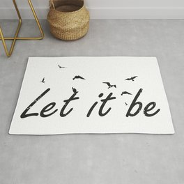 Let it be birds Rug