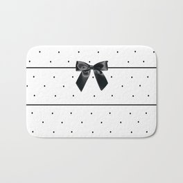 Striped: Black Tie Affair Bath Mat