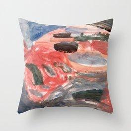 Autumnal Funk Throw Pillow