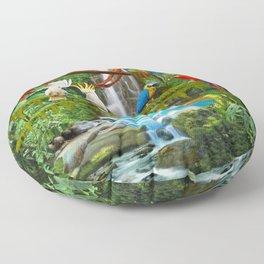 Enchanted Jungle Floor Pillow