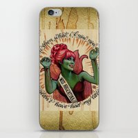 argentina iPhone & iPod Skins featuring Miss Argentina by Brittany W-Smith