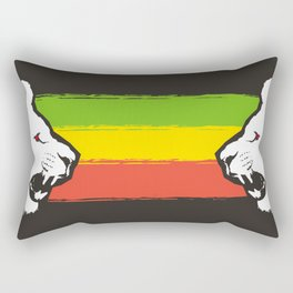 Rasta Lions (The Kingdom) Rectangular Pillow