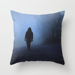 Walk into this void Throw Pillow