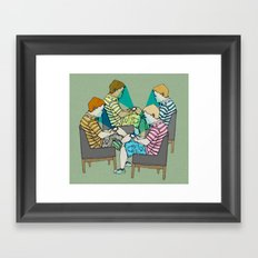 Smart ZOMBIE series-6 Framed Art Print