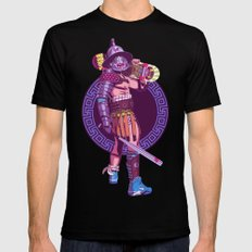 Street Warriors - Gladiator Black LARGE Mens Fitted Tee