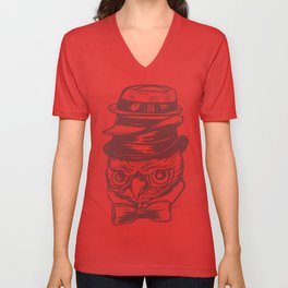 Do You Like My Hat  Unisex V-Neck
