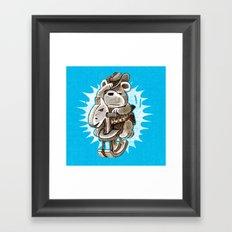 lil cowboy Framed Art Print
