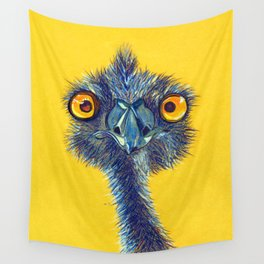 Staring Contest Wall Tapestry