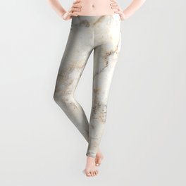 Marble Natural Stone Grey Veining Quartz Leggings
