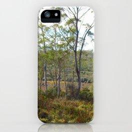 Mountain bush 2 iPhone Case
