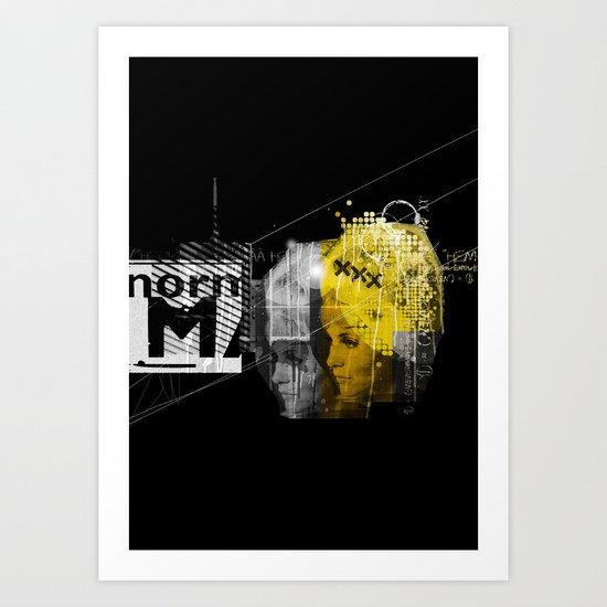 Blondit Art Print