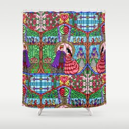 The Brothers Grimm - Snow White Shower Curtain