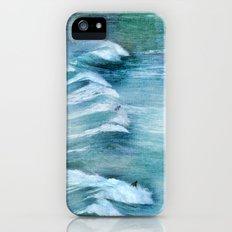 Surfing Day at Sagres beach iPhone (5, 5s) Slim Case