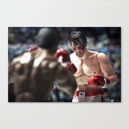 Apollo Creed vs Rocky Balboa Canvas Print
