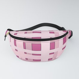 Plaid Pinks Fanny Pack
