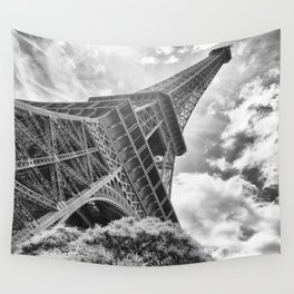 Eiffel Tower in Paris, France Wall Tapestry