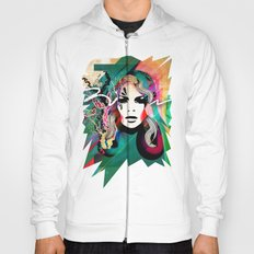 colorful hair Hoody