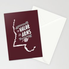 Mississippi Motto (Maroon) Stationery Cards
