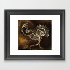 The Clockwork Music - fig.1 Framed Art Print