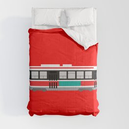 Toronto TTC Streetcar Comforters