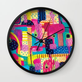Disorderly Wall Clock