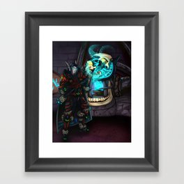 At the Forge Framed Art Print