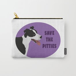 Save The Pitties Carry-All Pouch