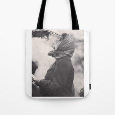 Human Water Fountain Tote Bag