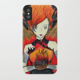 Girl on Fire iPhone Case