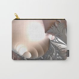 Muted misty colors of a fractal world at dusk light Carry-All Pouch