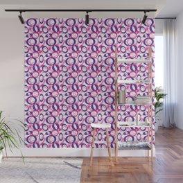 Oblong Pattern Wall Mural
