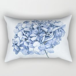 Hydrangea Blue 2 Rectangular Pillow