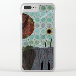 We Are The Stars Clear iPhone Case