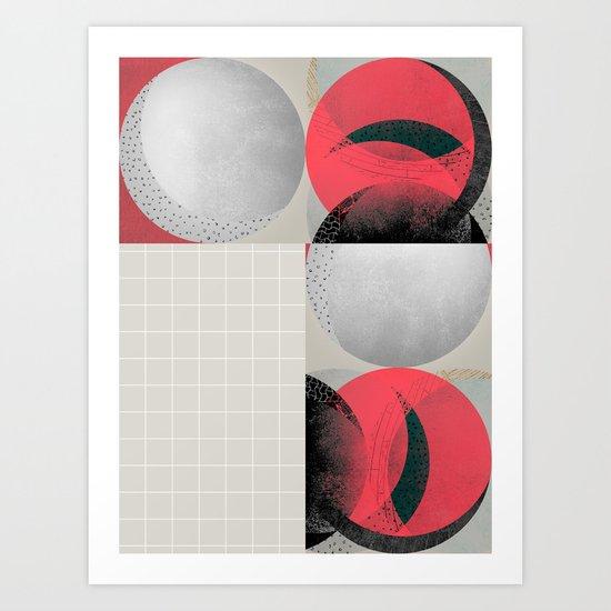 graphic 39 Art Print