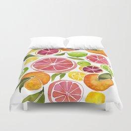 All the Citrus Duvet Cover