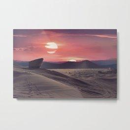 Desert Planet Metal Print